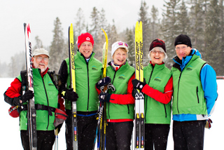 Canmore Nordic Centre PP - Snow Hosts