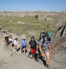 Great Badlands Hike