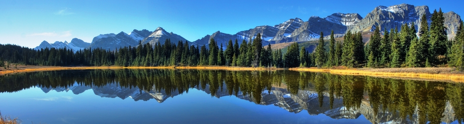 Willmore Wilderness - Lake Panoramic - M Wheatley