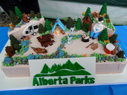 Parks Day - Cake