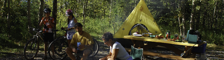 Choose from 250 Alberta Parks campgrounds