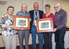 2015 Awards PPA Achievement Award Marion And Jack Whitworth Margaret And Menno Froese