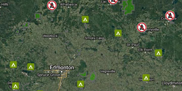 Find a Campground | Alberta Parks